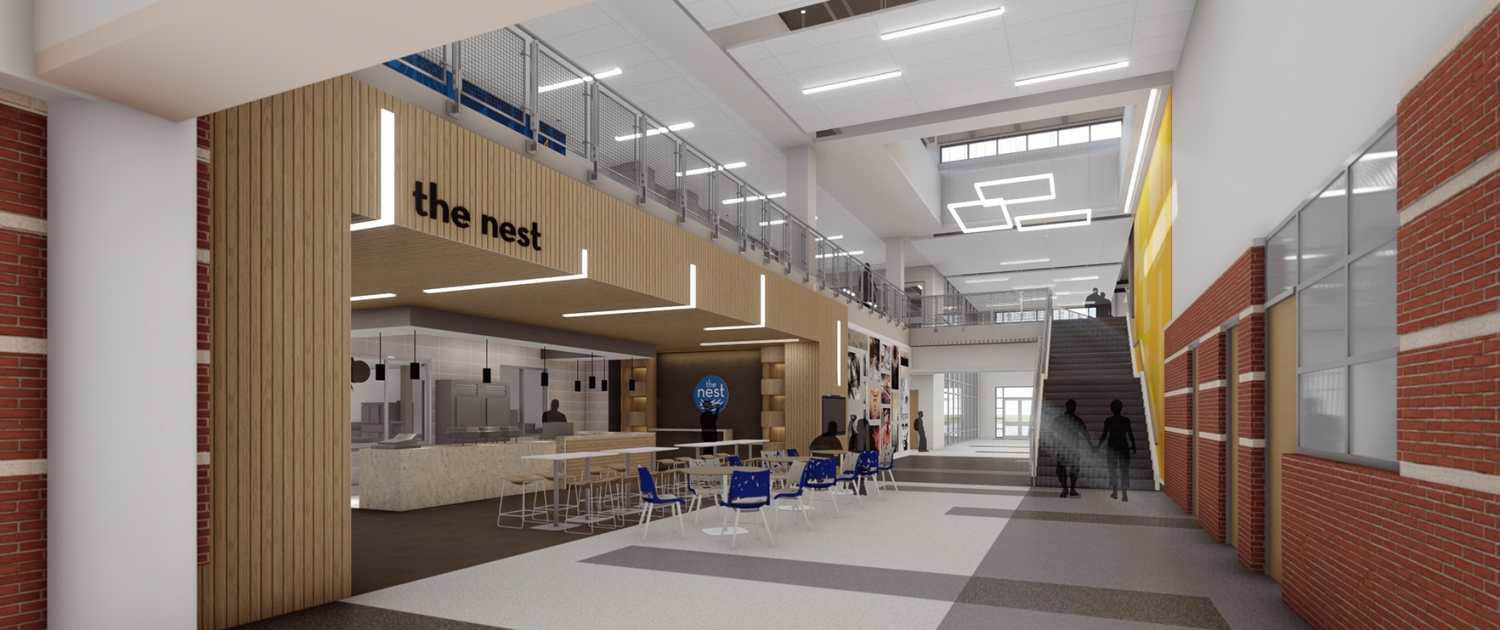 Channelview HS - Cafe