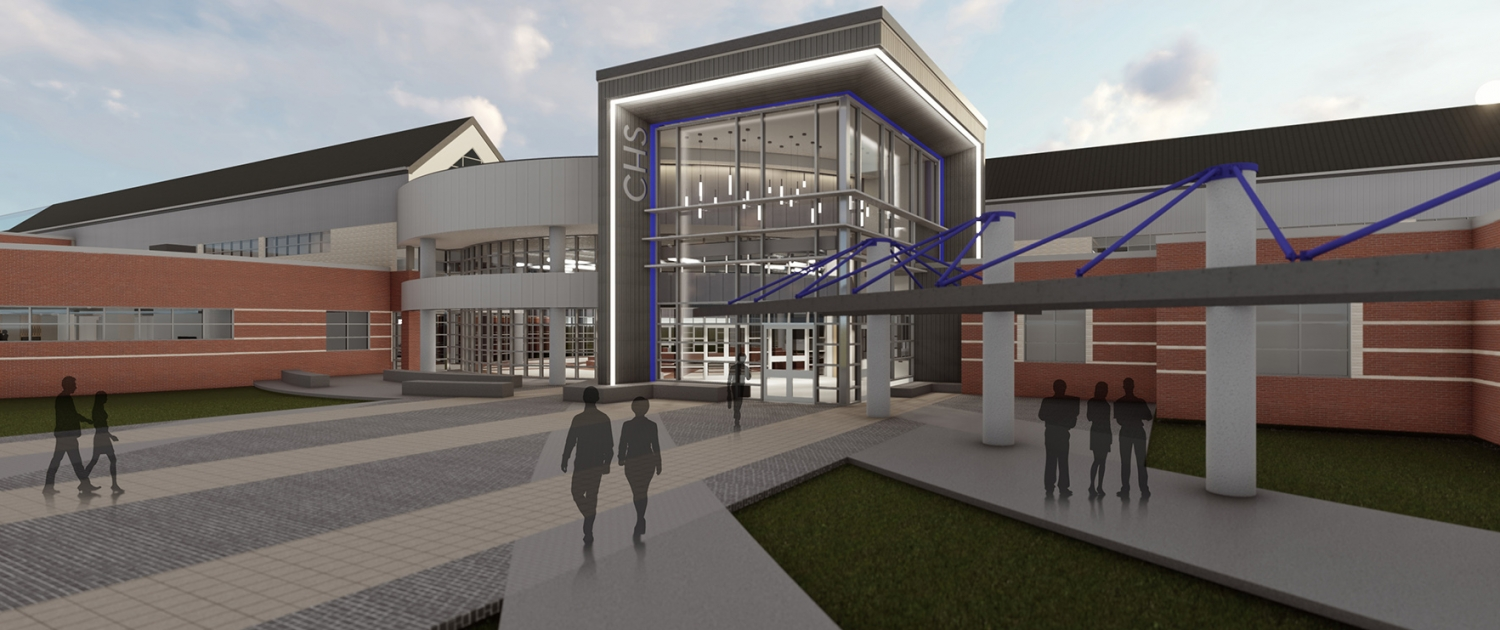 Channelview HS - Main entry